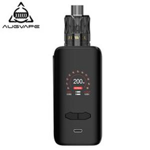 VX200  Kit 200w 1.3 Inch Color Display Dual 18650 Battery Temperature Control Electronic Cigarette Kits For