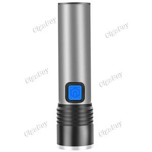 LED Flashlight Waterproof Torch 3 lighting modes Zoomable camping light
