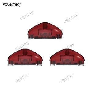 3 x  Smok Pod Cartridge for Rolo Badge - Transparent Red