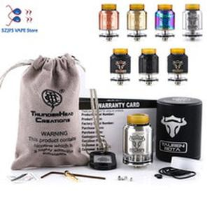 Original THC Tauren RDTA tank Double 28 micro air holes 2ML atomizer vape leak proof Rebuildable tank vs  kylin GEN 2 Zeus X rta