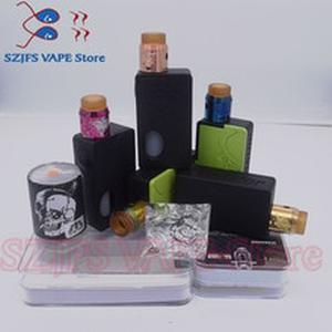 Electronic Cigarette Mech Mod  Vape Graffiti Color Bypass Mode 24mm 510 Wire Apocalypse Rapture RDA vsStorm ECO Max 90 W