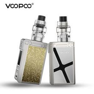 Original 180W  Alpha Zip Mod Vaper Kit 4ml Maat Tank Electronic Cigarette fit 18650 Battery 510 Thread Vape Vaporizer Kit
