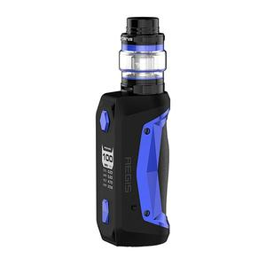 GeekVape Aegis Solo 100W 5.5ml TC VW + Cerberus Tank Kit - Blue