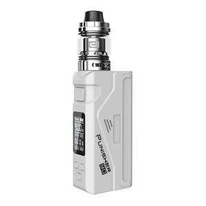 Punisher 90W TC VW  w/ DJ Atomizer 2.3ml Kit - White