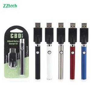 5pcs ZZtech hot selling CBD battery mod Vape preheating rod electronic cigarette hemp oil vape kit box mod for most cbd atomizer