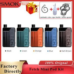 Fetch Mini Pod Vape Kit 1200mAh &3.7ml 40W Electronic Cigarette pod kit fit RPM mesh Triple Coils Mini Pod Vape starter Kit