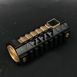 M4H1 Style 18650/21700 Mechanical Mod - Black