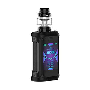 Aegis X 200W 5.5ml/4ml Starter Kit - Stealth Black