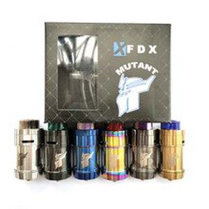 ZZtech MUTANT RTA Style 510 RDA RTA 4.0ml Capacity 26mm Vaporizer Tank For Electronic Cigarette  Hookah Vape Atomizer