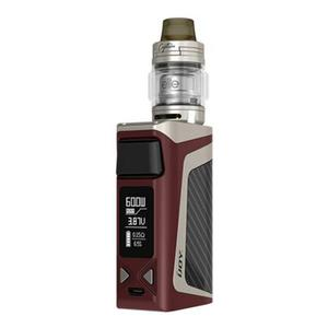 IJOY Elite Mini 60W 2200mAh TC VW  w/ Captain Elite Atomizer 3.0ml Kit - Mirror Red/Gold