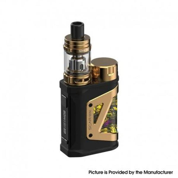 Scar-Mini Kit 80W VW  with TFV9 Mini Tank Vape Atomizer - VW 1~80W, 1 x 18650, 3.0ml, 0.15ohm - Fluid Gold