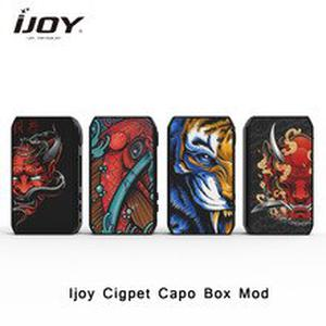 IJOY Cigpet Capo Box MOD 126w 126w powered by dual 18650 batteries vape mod VS drag 2/ m vv