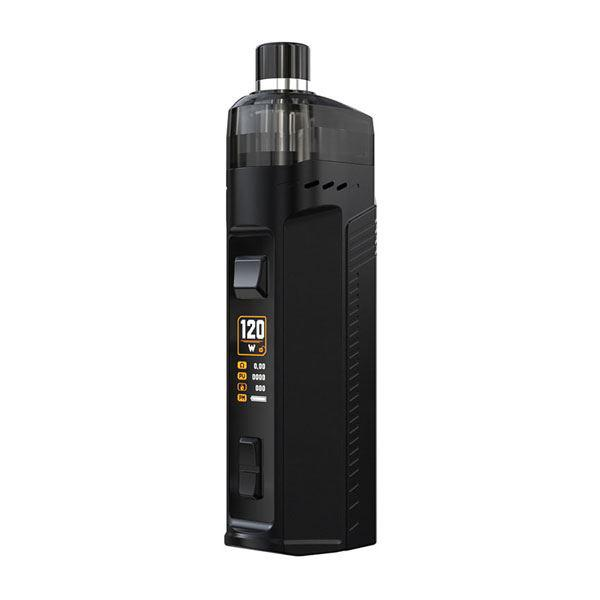 Artery  Cold Steel AIO 120W Pod System Vape Mod Kit XP Version - 1 x 18650 / 20700 / 21700, 4.0ml, 0.15/0.4ohm - Black