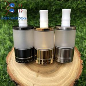 Dvarw MTL v2 5ml Bigger oval hole chimney 316 stainless steel 22mm Rebuildable Tank vs Dvarw DL mtl rta drip tip 510 vape tank