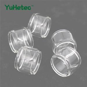 5PCS Original YUHETEC Replacement Glass Tank for UWELL Crown 4 Atomizer 6ml Fatboy version/4ml Straight version