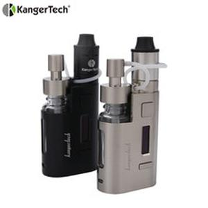 2019 Original 80w Kanger DripEZ Starter Kit Box Vape Mod Pump And Push RBA 0.3Ohm Drip coil 0.2Ohm Drip EZ Kit E Cigarettes