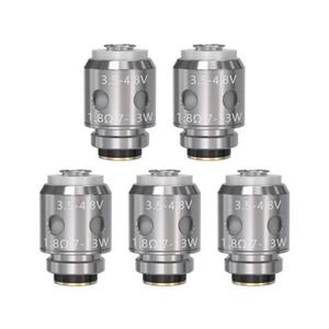 VandyVape Replacement 1.8ohm Coil Head for Berserker MTL Atomizer (5PCS) - Silver