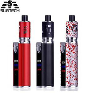 Original 80w vape kit Built-in 2200mah battery with LED display electronic cigarette huge vaporizer kit electronic hookah kit
