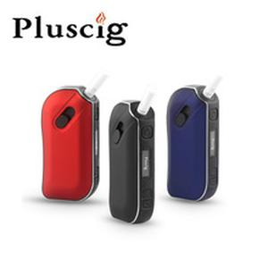 Pluscig P2 LED Display TC Ecig 1300mAh Electronic Cigarettes Vape Kits compatibility with Brand Heating Tobacco stick