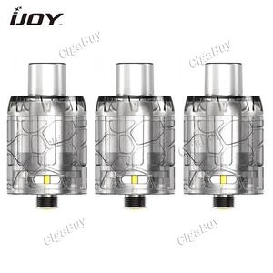 3 x  IJOY Mystique Mesh Tank Atomizer 3ml - Clear