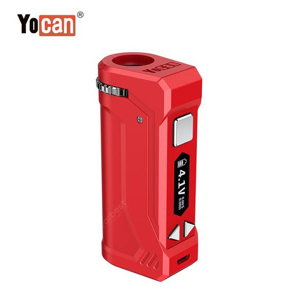 Original Uni Pro VV Mod 650mAh Preheat Battery with Magnetic Adapter for G5 BK V9 CBD Thick Oil Vape Cartridges Vaporizer Kit