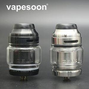 Zeus X RTA 4.5ml Capacity Tank Support Single Dual Coil 510 Thread Vape Tank fit Aegis Mod Vaporizer Atomizer