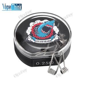 10 x  Vapethink Steam Shark Mega Sweep V1 Coil 0.25Ohm