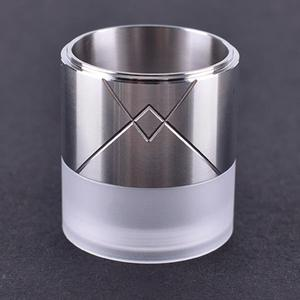 Style Replacement 316SS + PC Tank Tube for 25mm VG Extreme RTA  Atomizer - Silver