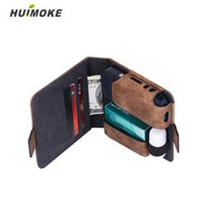 5 Colors 12.3x12x3.4cm Pu Leather Material Case For IQOS Weight 95g High Quality No Odor Iqos Bag Also As like Wallet Taking