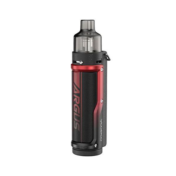 Argus Pro Pod System Vape Mod Kit - VW 5~80W, 3000mAh, 4.5ml, 0.15ohm / 0.3ohm - Litchi Leather Red
