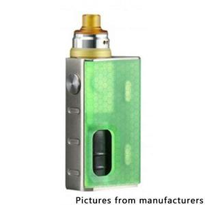 Luxotic   100W 7.5ml BF Squonk  w/ Tobhino Atomizer Kit - Green Honeycomb