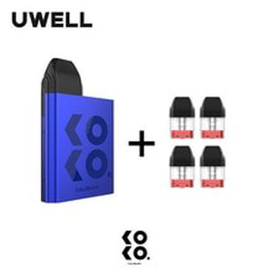 In Stock! UWELL Caliburn KOKO Pod System and 1Pack 1.2ohm 2ml Refillable Pod Cartridge Top-Fill Vape Pod System