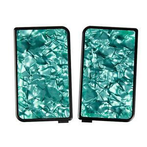 Replacement Front + Back Cover Resin Panel For Subveter Mod  - Green