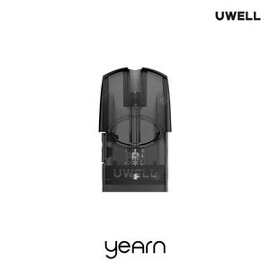 UWELL Official store Yearn Refillable Pod Replacement Cartridge with 4Pcs 1.4ohm Mesh Coil Suitable for the E Cigarette Yearn Pod System