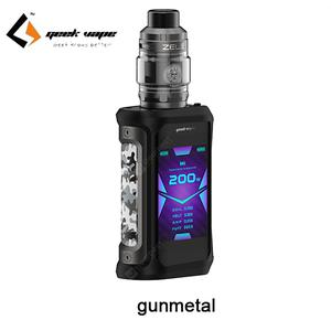 Aegis X Zeus Kit 200W Powered By Dual 18650 Battety Aegis X Mod with Zeus Sub Ohm RTA Tank