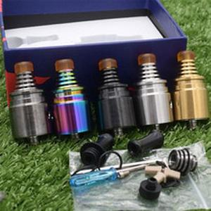 High Quality Berserker Mini MTL RTA V1.5 Tank 22mm Tank 2ml to 2.5ml Capacity BSKR Atomizer Fast Shipping