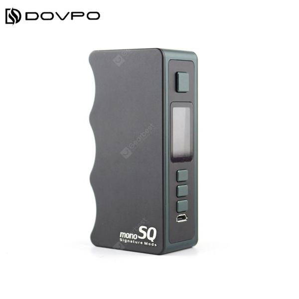 Mono SQ Box mod 75W Powered by Single 18650 Vattery With TFT Screen Electronic Cigarette