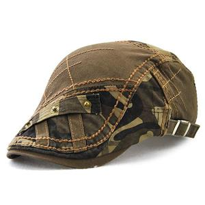 European and American casual simple cap - Army Green
