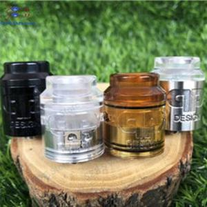 QP KALI RDA Fatality RDA Atomizer Drip Oil DIY 25mm 316 stainless steel and PC pei vape vaporizer vs Apocalypse GEN 25 RDA