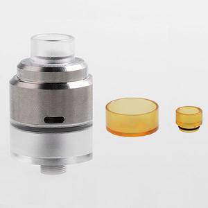 Biatch  Style 22mm 316SS RDTA  1.5ML w/ BF Pin w/ PEI Tube + 510 Drip Tip - Silver