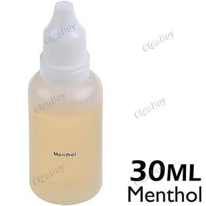 30ml Menthol Flavor E-liquid 16mg Nic