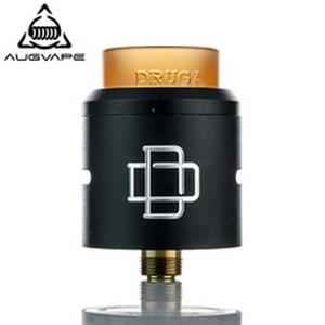 Druga RDA atomizer 24mm Clamp Snag System 810 Drip tip with Gold Plated Brass Pin And SS Squonk Pin E-cigarette rda tank