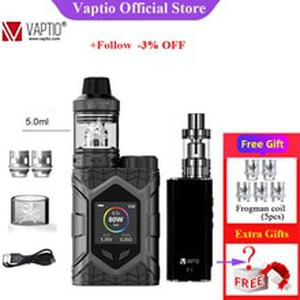 Original  Wall Crawler KIT 80W FROGMAN TANK 5.0ML Vapor Kit Support 1PC 18650 Battery TCR 1.3inch Screen No Battery