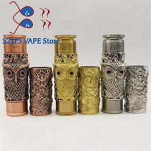 NEWEST AV kustohm MOD vs Dragon shape MOD Mechanical Mod 18650 Battery 24mm mech mod fit 510 thread Vaporizer Atomizers RDA Rate