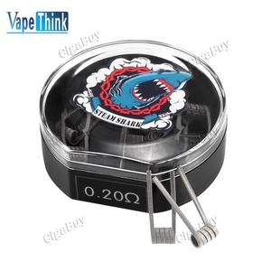 10 x  Vapethink Steam Shark Sweep V2 Prebuilt Coil 0.2Ohm