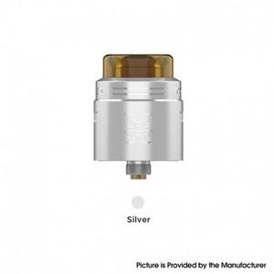 GeekVape  TALO X RDA Rebuildable Dripping Vape Atomizer w/ BF Pin - Stainless Steel, 24mm Diameter - Silver