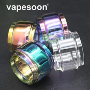 VapeSoon Replacement Glass Tube For IJUST 3 Kit ELLO Duro Atomizer Tank 2ml/6.5ml Rainbow Color Glass Tube