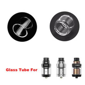 Original Replacement Glass Tube for  Engine 2 RTA Tank Dual Coils RTA 26mm with 360 Degree