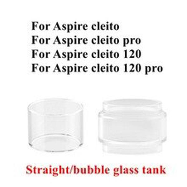 4/1pcs Pack Hongxingjia Original Pyrex Glass Tube For  Cleito 120 pro Tank RTA Atomizer Replacement Glass