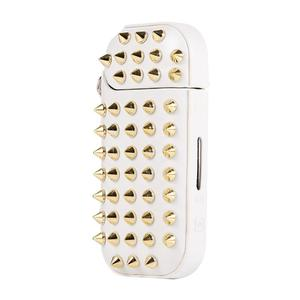 IQOS Gold Rivet Style Electronic Cigarette Protective Case for Series 3/2 WHITE